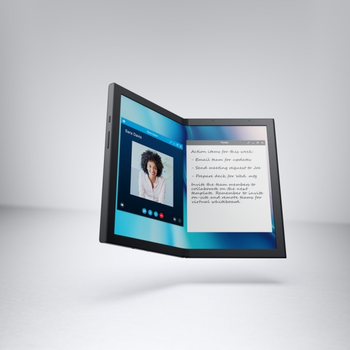 Concept Ori 摺疊屏幕電腦