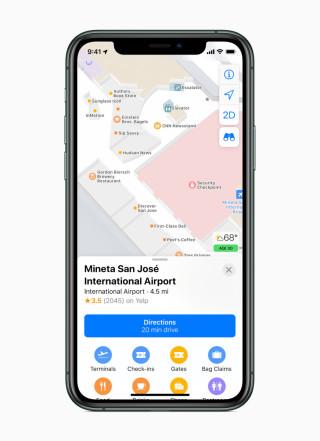 iOS Maps App 室內地圖