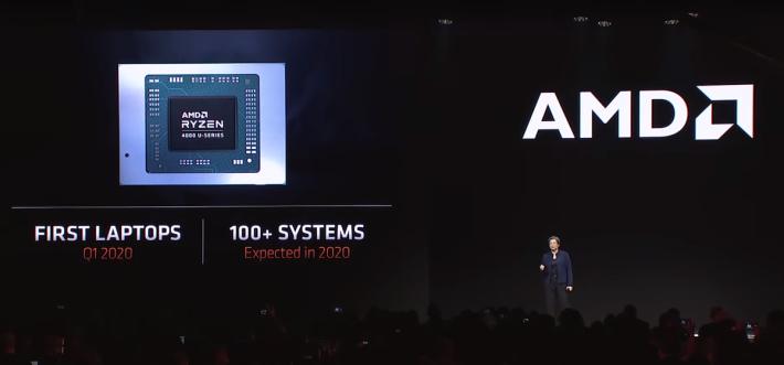 首款筆電預計在本季上市,全年預計有過百款產品。