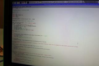 借物系統由Arduino的同學編程的程式。