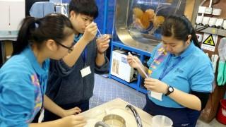 前往海洋公園實習,讓學生更有自信,也確立了未來志向。
