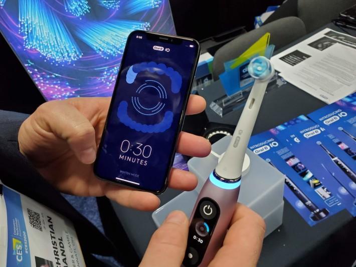 智能牙刷能會透過傳感器數據,為用戶來提供有關刷牙重點的建議
