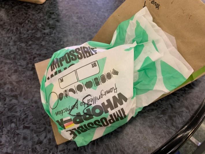 美國 Burger 已經採用 Impossible Food 生產的人造肉
