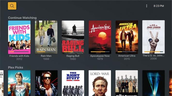 上月開始 Plex 更提供了部分免費影片內容給用戶觀看。