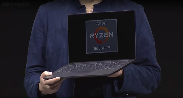 基於 Ryzen 7 4800U 的超簿筆電