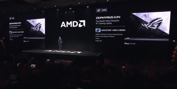 現場公佈 ROG Zephyrus G14 有WQHD (4K) 或 FHD 120Hz 顯示屏可選