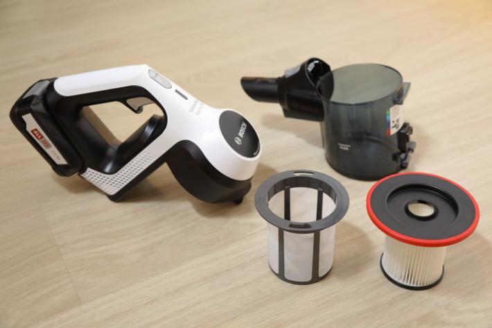 愛清潔的人士就連吸塵機都希望可以保持潔淨,Unlimited Plus 便易於拆開打理。
