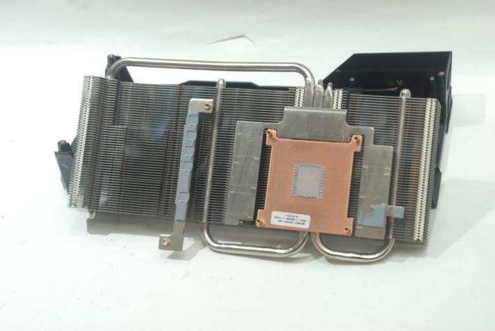 所用散熱模組有 2 根heatpipes 加強散熱性能