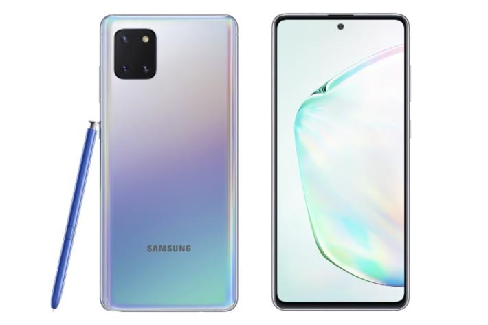 Galaxy Note10 Lite 星環銀