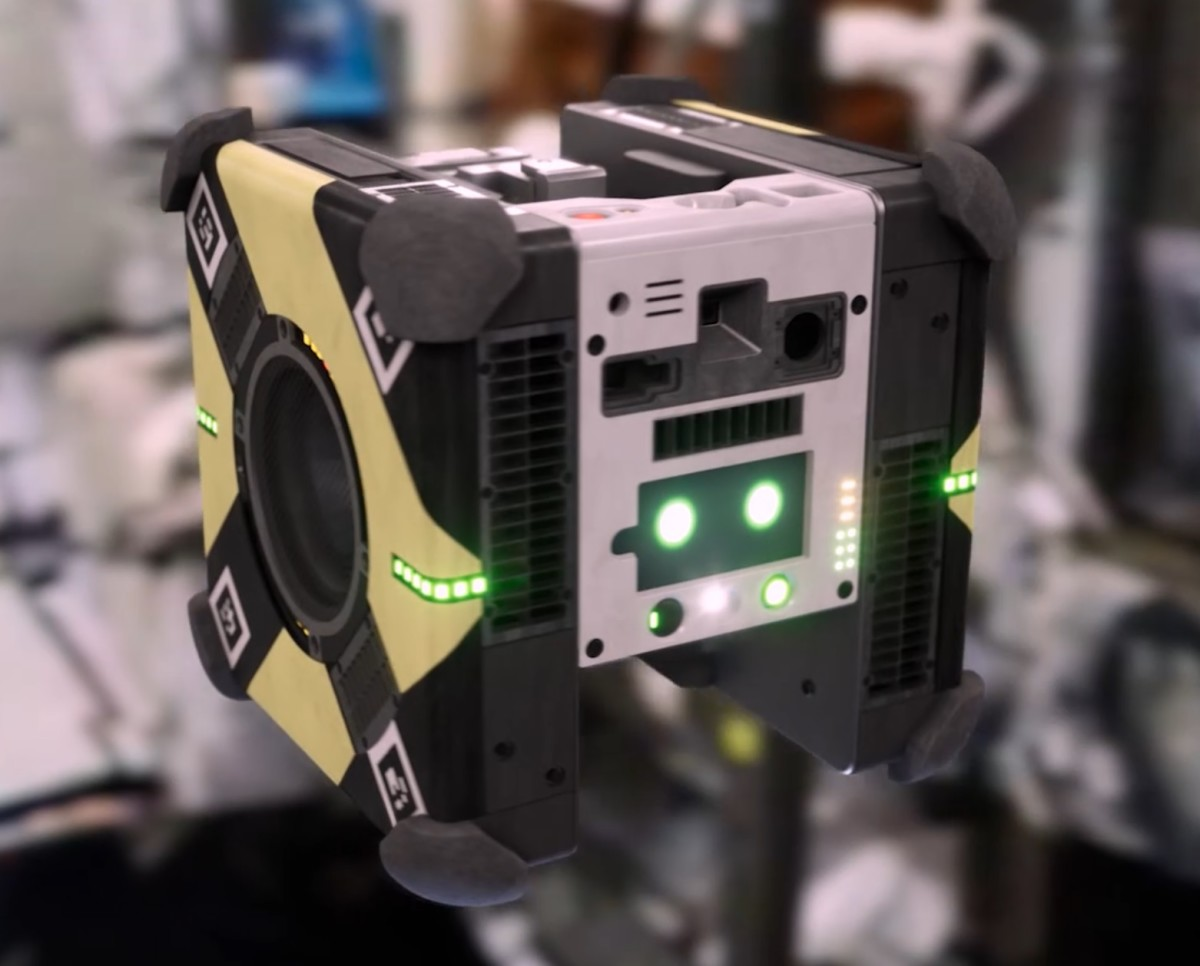 叫機械人去協助太空人完成任務亦不是新鮮事,美國 NASA 都派出過立方形的 Astrobee 提供服務