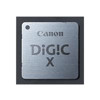 新開發的 DIGIC X 處理器