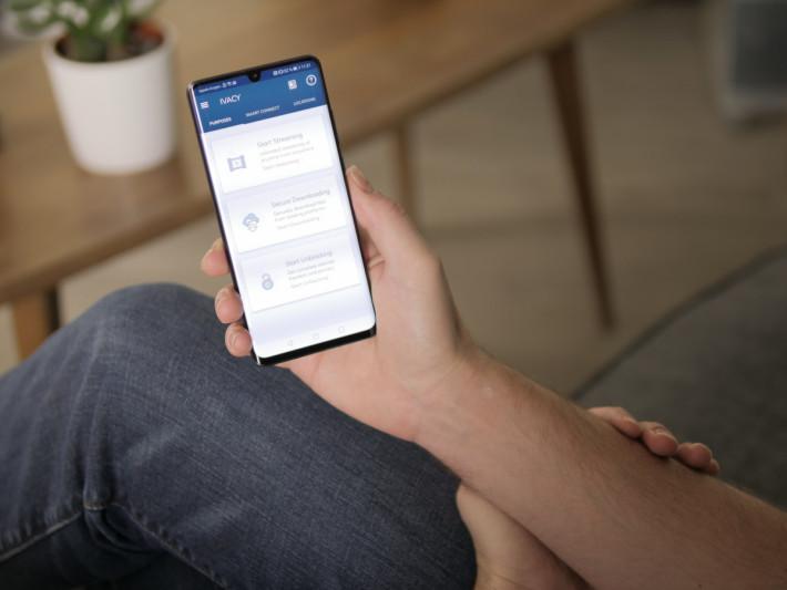 手機程式提供有 Streaming、Downloading 及 Unblocking 三大連線用途選項,方便連線至最合適的伺服器。