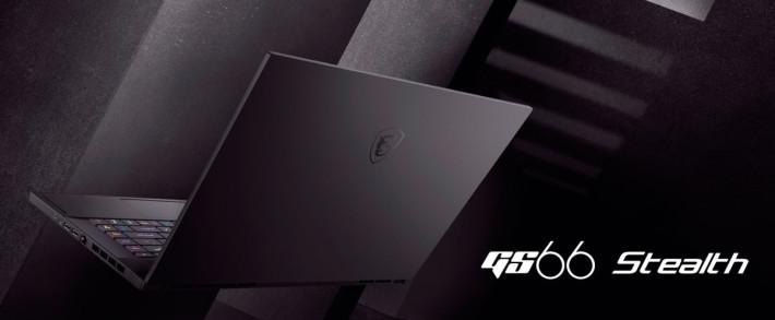 以輕薄為賣點的 GS66 Stealth