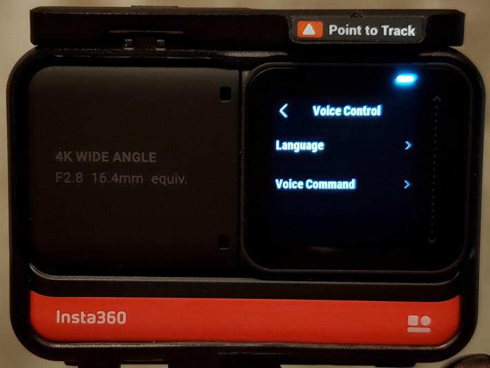 ONE R 支援語音操控,並可自設語音指令。