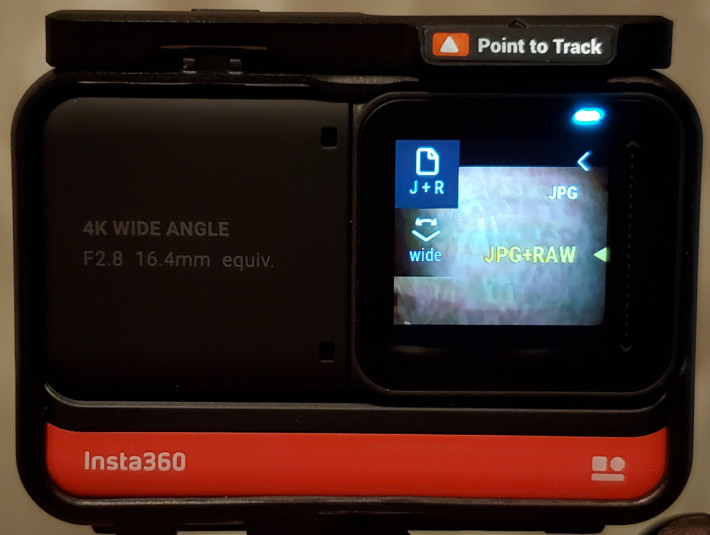 相片除了可儲存 JPEG 外,亦可同時儲存 JPEG+RAW。
