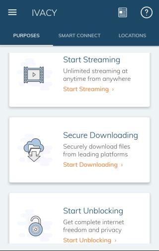特設三大連線用途,方便用家按需要連線到最合適的伺服器,相當貼心。