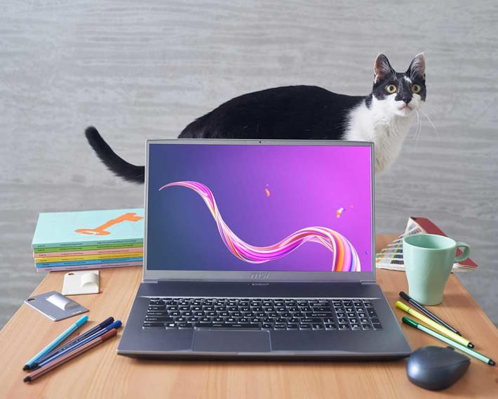 Creator 17 筆電全球第一部使用 4K Mini LED 屏幕的筆電