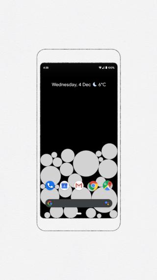 ACTIVITY BUBBLES 以泡泡來提示你是否沉迷手機
