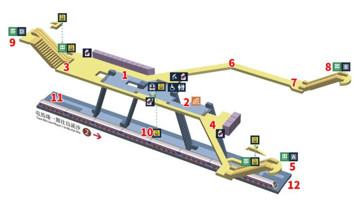 啟德站測試位置(圖片來源:港鐵)