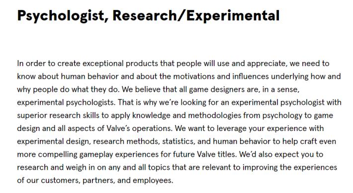 要開發一款遊戲除了需要程式員或美術人員等職位外,當然不少得這班專業人士的協助
