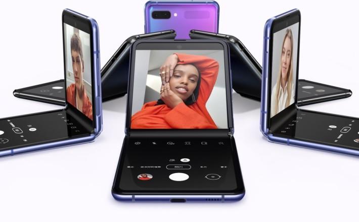 Galaxy Z Flip 就是首款採用 Samsung UTG 的摺疊屏幕裝置