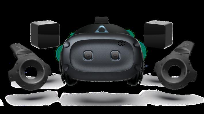 套裝版 Cosmos Elite 採用黑色設計,而不是 Cosmos 的藍色。