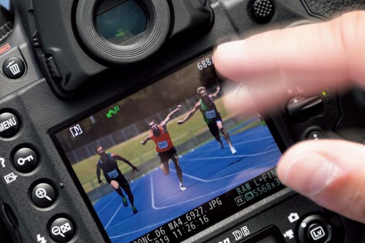 透過撥動就可以決定相片發送的優先順序