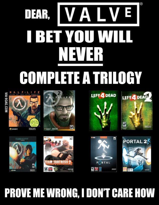 當然玩家最希望這班專業人士能幫 Valve 推出第三集的遊戲