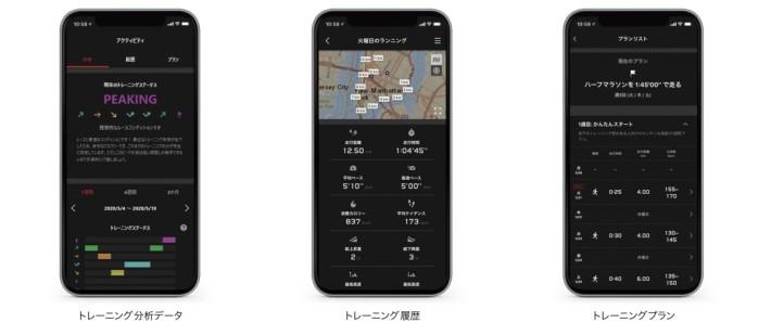 與手機程式連動分析運動數據和紀錄運動路線