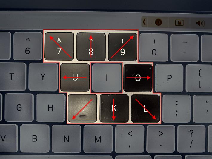 鍵盤控制鼠標