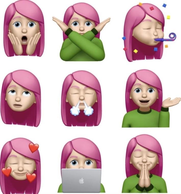 新推出 9 款 Memoji
