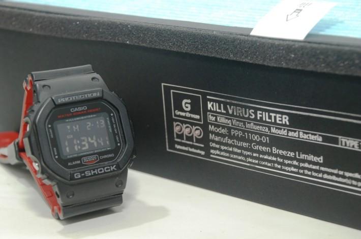 從這圖可見 PPP-1100-01 所用 Filter 的厚度