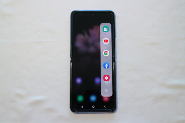 同 Galaxy Fold 一樣有 Multi Window 功能,可用盡 21.9:9 屏幕。
