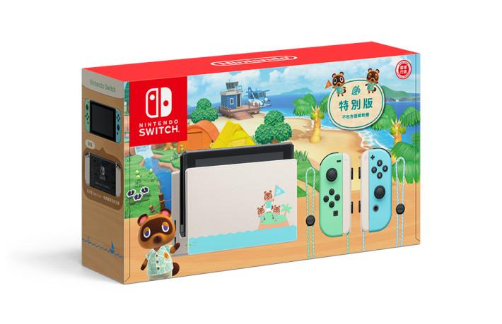 《集合啦!動物森友會》特別版 Switch 主機因此延期發售