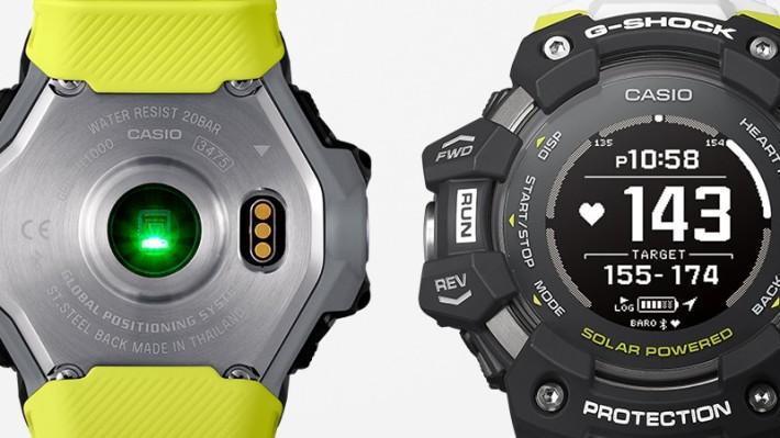 GBD-H1000 設有心跳計、加速計等感測器來監察用戶健康和紀錄運動資料