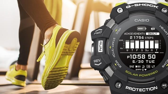 運動成效和心肺健康指數可以顯示在錶面