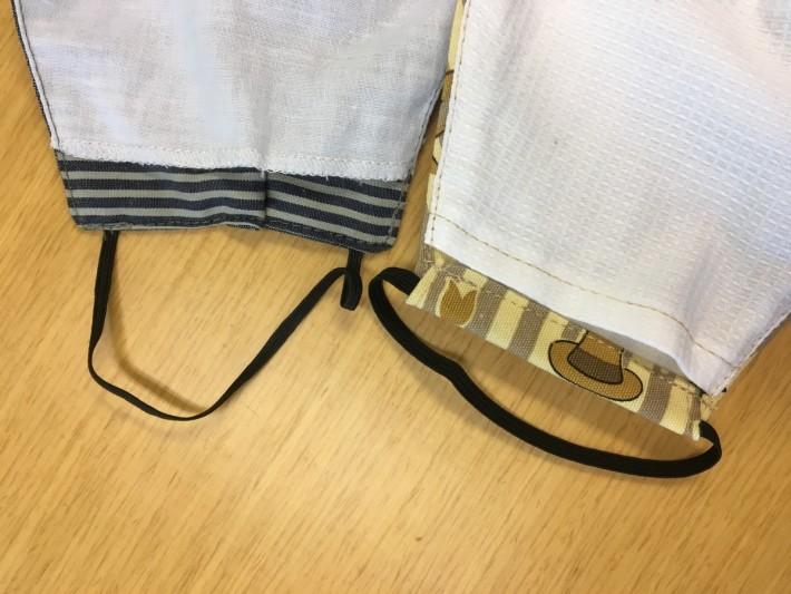 橡筋有固定長度,也有自行調整款式。