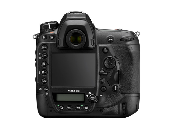 Nikon D6 機背