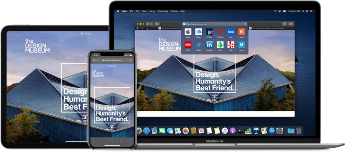 雖然在 Mac 機上用戶可以更改預設瀏覽器,不過在 iOS 和 iPadOS 就只能以 Safari 作為預設瀏覽器。