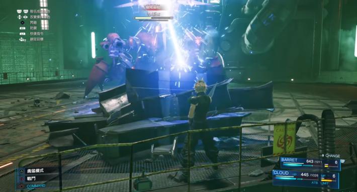 Demo 中蠍子機械人 Boss 並不是單純攻擊它就能過關,需要玩家利用場景物和魔法才能過關