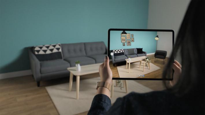 宜家傢俬將會在今年稍後在《 IKEA Place 》程式裡加入運用 LiDAR 的 Studio Mode