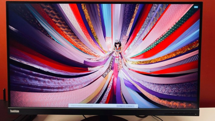 4K 顯示,無論顏色和層次都相當出色