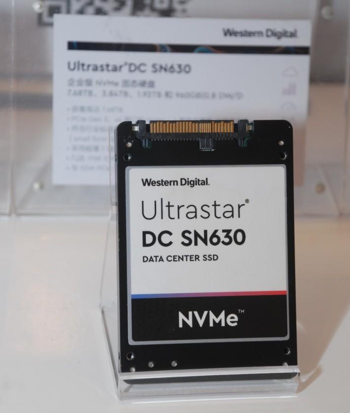 Western Digital 在 Ultrastar 系列已有 NVMe SSD 版本。