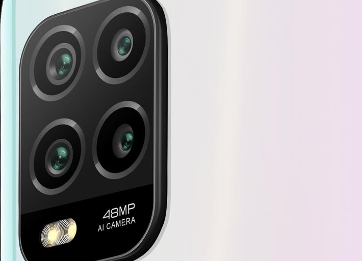 使用 48MP 主鏡的四鏡頭系統,但其他鏡頭未有詳細資訊。