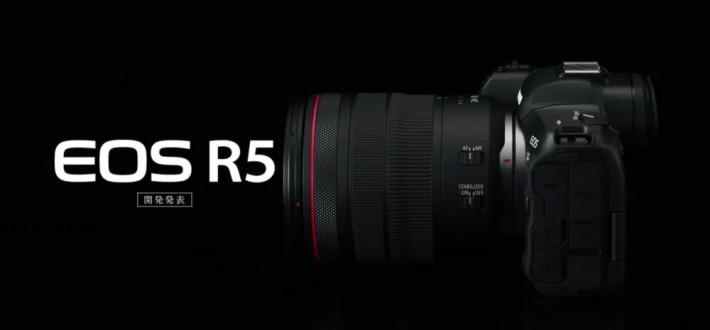 Canon 日前公佈更多有關 EOS  R5 的消息