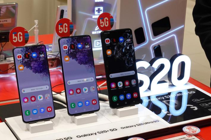 指定的 SmarTone 門市將設立 SmarTone 5G 聯乘 Samsung Galaxy S20系列體驗區,給有對 5G 網絡有興趣的朋友可以動手玩。