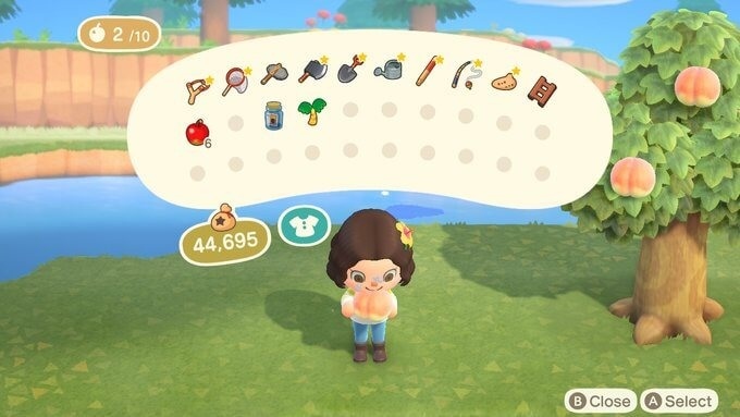 遊戲中有六款「水果」,只要有食物來源就無需傷害動物,吃水果後也能夠擊碎岩石,滿足日常生活需要。
