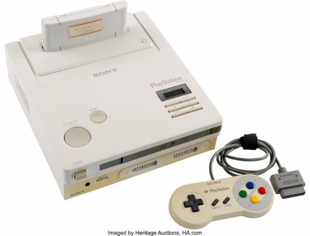 被稱作 Nintendo PlayStation 的主機 ,近年才知道它正名為 NES CD-ROM