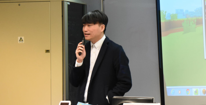 聖公會諸聖中學電腦科教師何嘉琪表示在疫情下產生新的教學情境,讓他反思很多教學細節的實際需求。