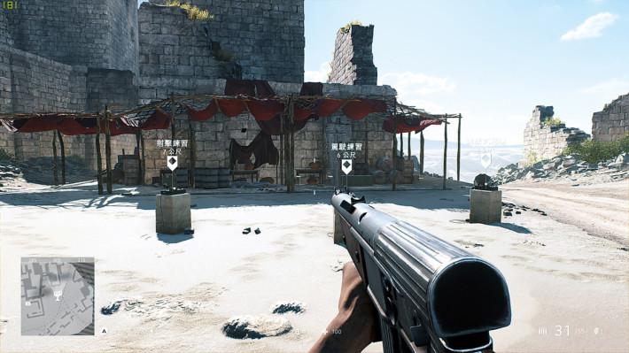 由於 GS66 使用支援 DX12 的 RTX 顯示卡,於《Battlefield V》中更改 DX12 模式後,同樣設定下,平均 Frame Rate 升至 180fps。